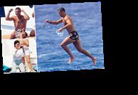 Shredded Cristiano Ronaldo shows off killer abs while on luxury yacht as Georgina Rodriguez does holiday washing