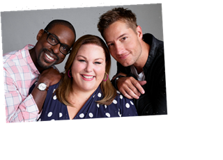 This Is Us' Big Three Turn the Big 4-0: Watch Justin Hartley, Sterling K. Brown, Chrissy Metz & Co. Celebrate