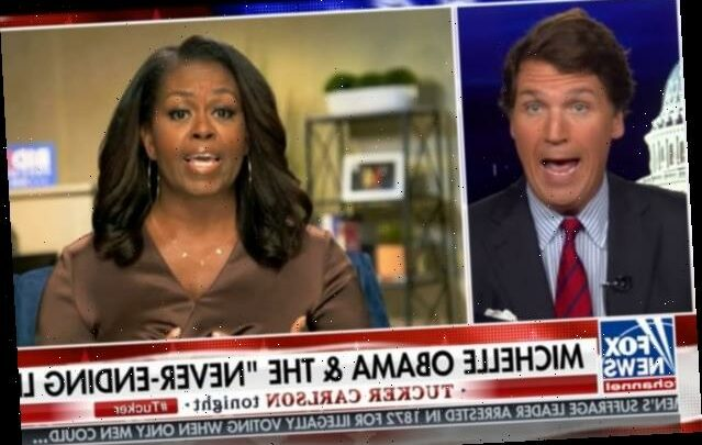 Tucker Carlson Is So Mad About Michelle Obama's DNC Speech (Video)