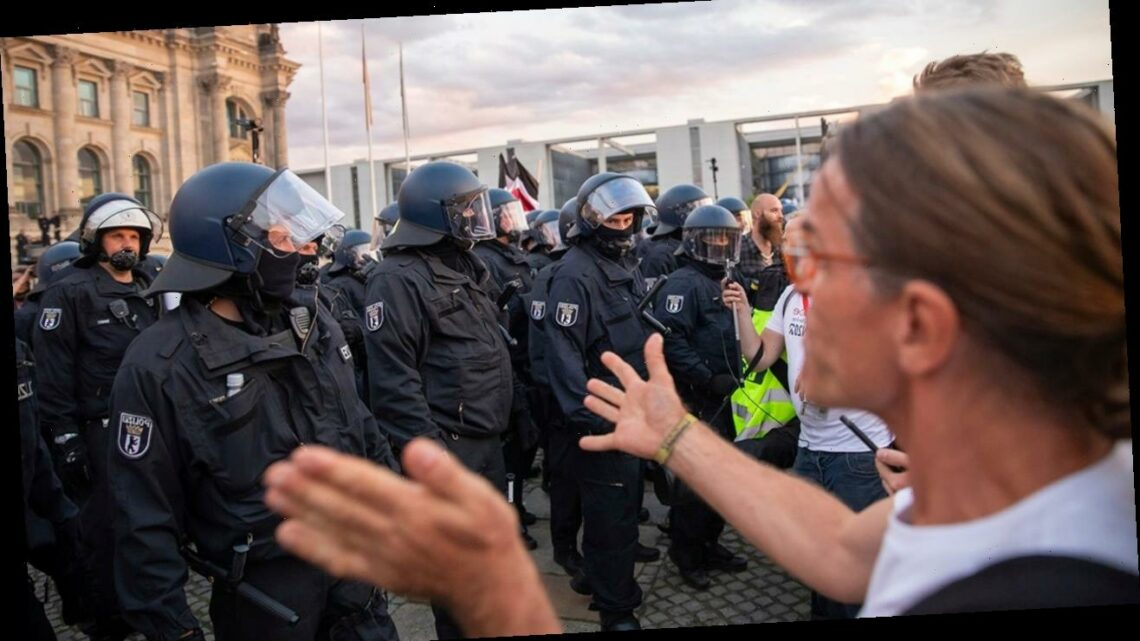 Germany police arrest 300 as far-right protesters storm parliament