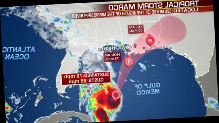 Tropical Storm Marco now a hurricane, sparks warning of 'life-threatening' storm surge'