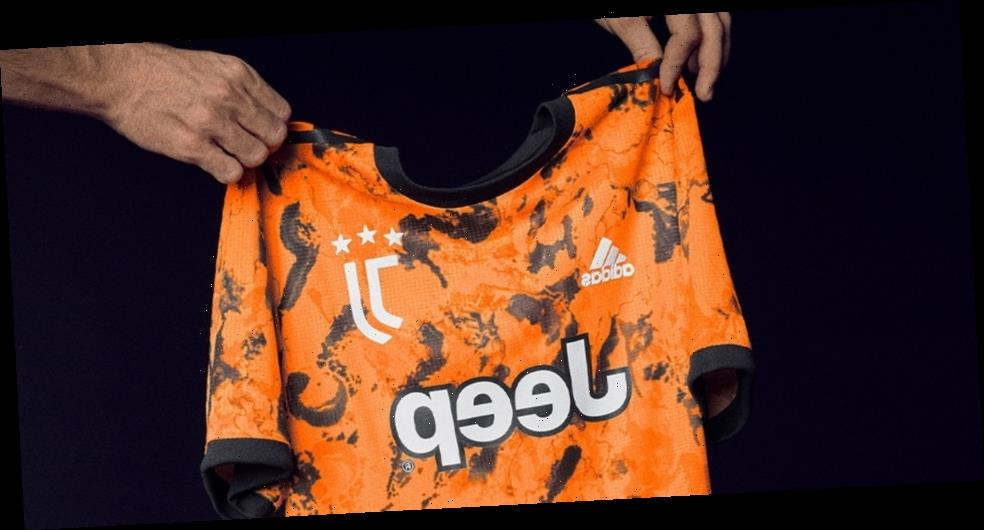 Juventus Continues Opts For Vibrant Orange Third Kit
