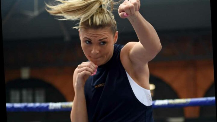 Shannon Courtenay: 'I only feel at peace in church or in the boxing ring'