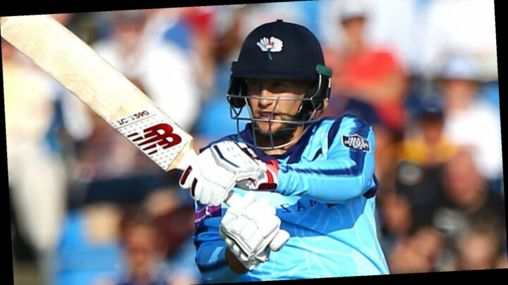 Vitality Blast: Joe Root's half-century helped Yorkshire to a thumping win over Derbyshire
