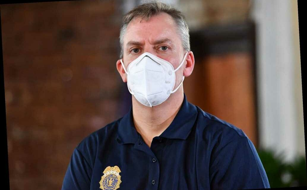 Dermot Shea rips police critics, says three NYPD cops tested positive for COVID-19