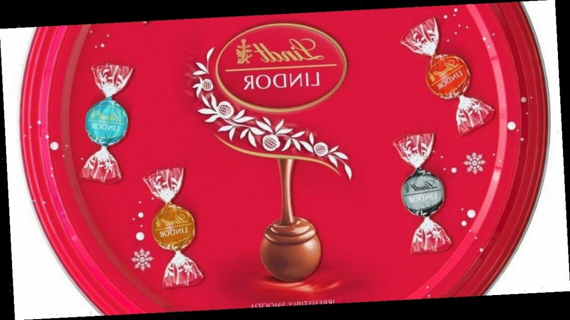 Lindt launches first ever sharing tin that comes with 32 tasty Lindor truffles