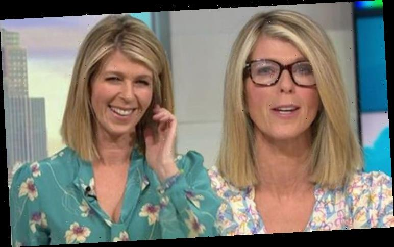 Kate Garraway red-faced as GMB host details how she left nurses 'baffled' with eye injury