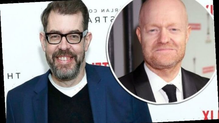Richard Osman: Pointless host supported by Jake Wood as he states 'feel your pain'