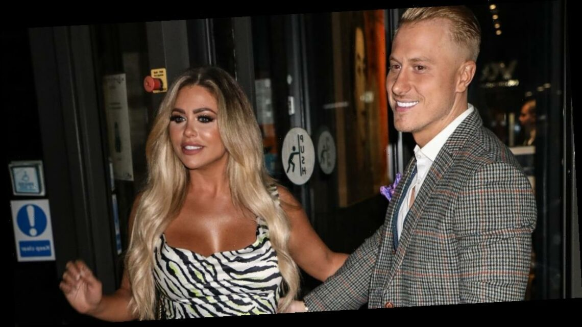 Kris Boyson and girlfriend Bianca Gascoigne put on loved-up display on night out