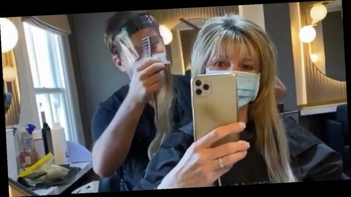 Ruth Langsford undergoes makeover as This Morning host gets new hair extensions