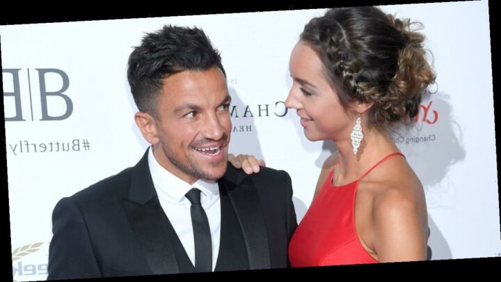 Peter Andre calls his hunky gardener 'every husband's nightmare' and jokes son Theo isn't his
