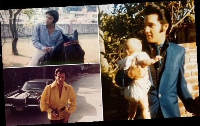 Rare and candid photographs showing Elvis Presley go up for auction