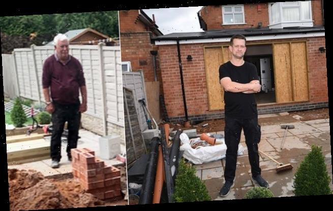 TV builder accused of downing tools half-way through home extension