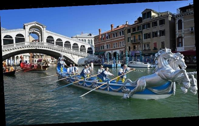 Hundreds enjoy colourful splendour of Venice's Historical Regatta