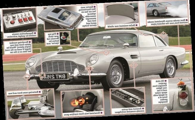 What it's like behind the wheel of James Bond's DB5