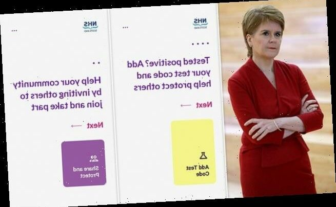 'Protect Scotland' contact-tracing app is launched by Nicola Sturgeon
