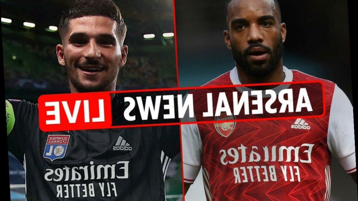 8am Arsenal transfer news LIVE: Houssem Aouar bid LATEST, Holding U-turn, Partey UPDATE, Aubameyang contract talks – The Sun