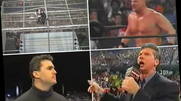 The WWE top 10 most shocking moments, including The Undertaker's undefeated streak & CM Punk's infamous pipe bomb