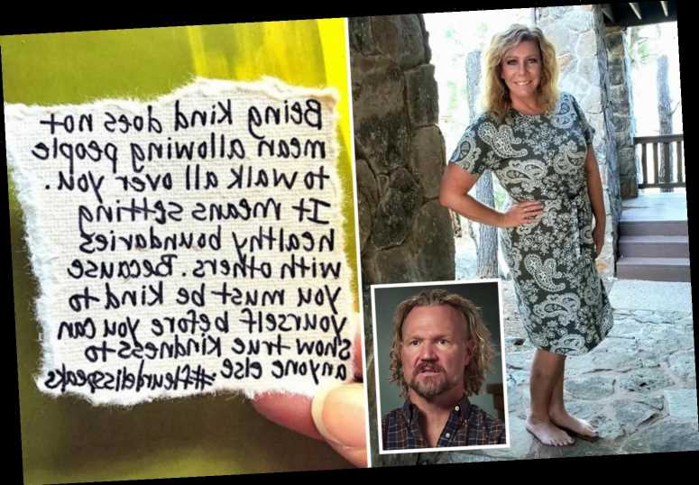 Sister Wives' Meri Brown insists she does not 'allow people to walk all over' her as she separates from husband Kody