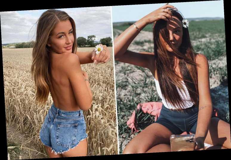 Charlotte Crosby and Georgia Steel among stars Having a Field Day in latest stunning Instagram pose trend