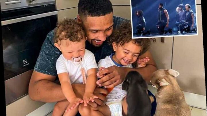 Jordan Banjo reveals his cute kids and dogs have helped him through 'negative' BLM routine backlash