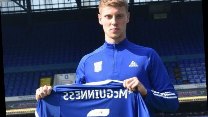 Arsenal ace Mark McGuinness joins Ipswich on season-long loan deal with Arteta wanting defender to get first-team action