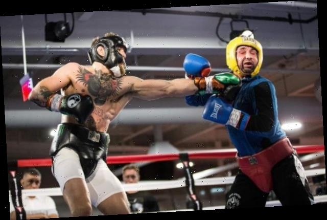 Conor McGregor 'whooped' rival Paulie Malignaggi in boxing sparring while preparing for Floyd Mayweather fight