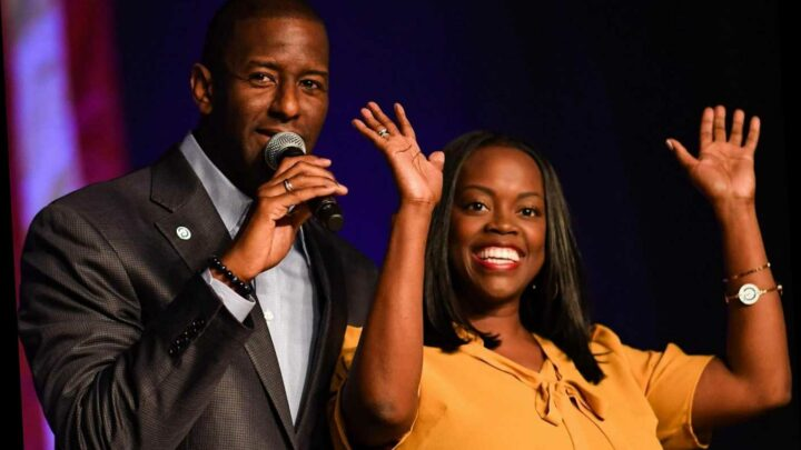 Who is Andrew Gillum's wife R. Jai Gillum and how many children do they have?
