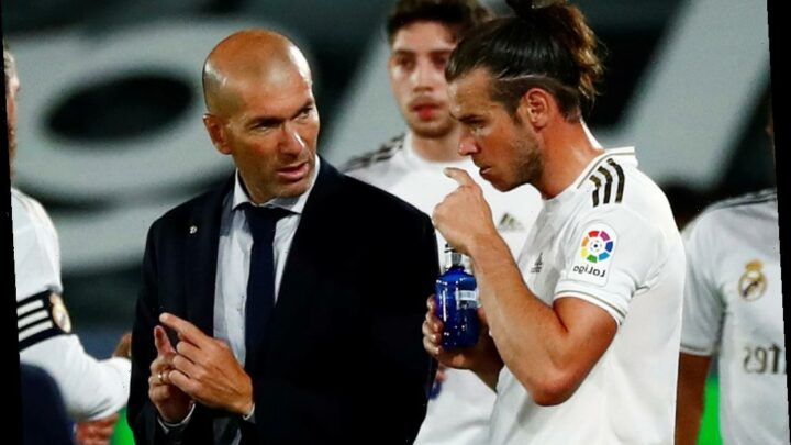 Zinedine Zidane tells Gareth Bale 'we wish you well' ahead of Spurs transfer and says he's been 'spectacular' for Real