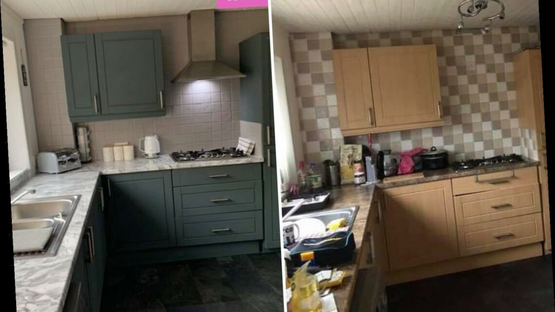 Woman totally transforms her outdated kitchen in just ONE DAY – and people can't tell it's the same room