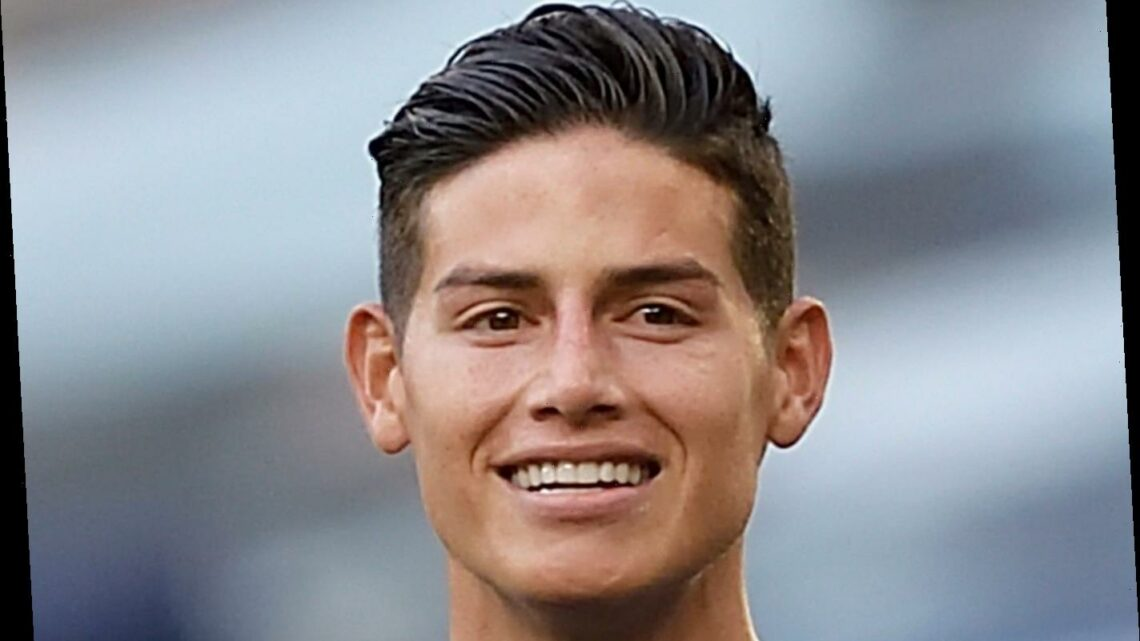 Everton signed James Rodriguez on FREE transfer as ex-club Banfield chased Real Madrid for cash from deal but was none
