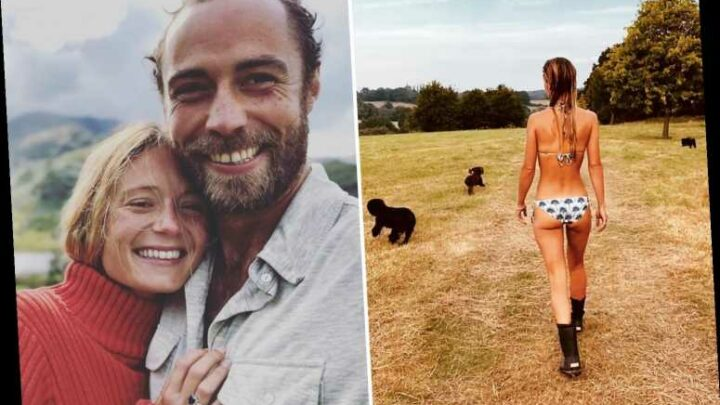 Kate Middleton's brother James shares jaw-dropping photo of fiancée Alizee Thevenet wearing a bikini with wellies