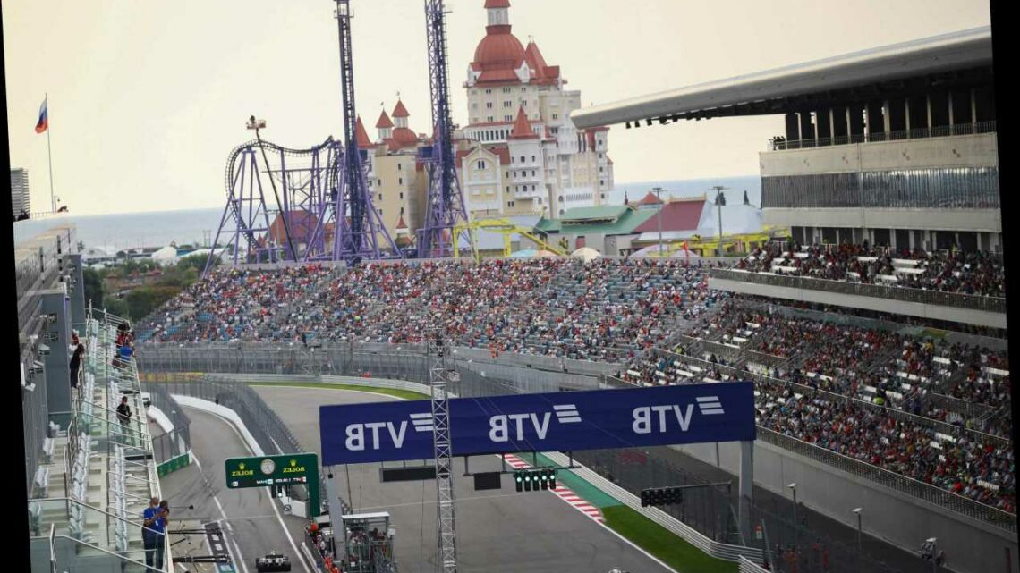 F1 Russian GP practice: UK start time, live stream, TV channel and race schedule