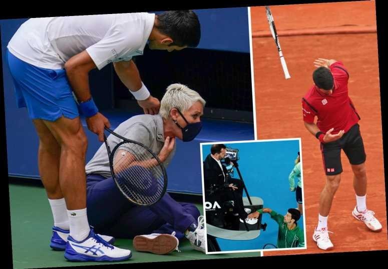 Novak Djokovic is man tennis fans love to hate, from anti-vaxxer to his Covid-riddled Adriatic Tour and US Open DQ shame