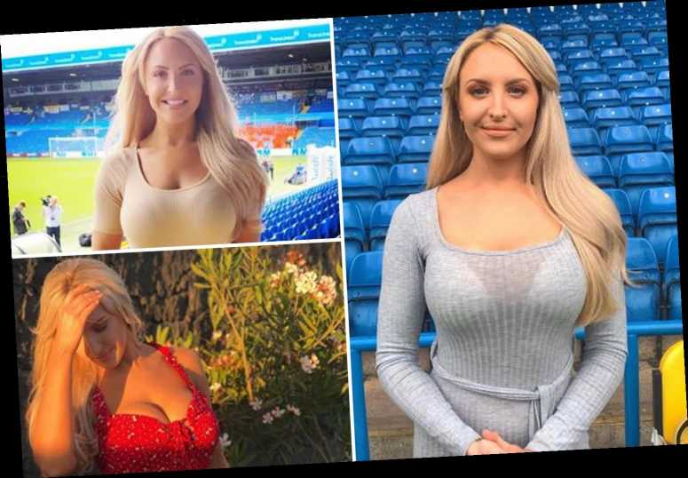 Leeds United TV presenter Emma Louise Jones has been the club's best signing this season… despite admitting that she never used to like football