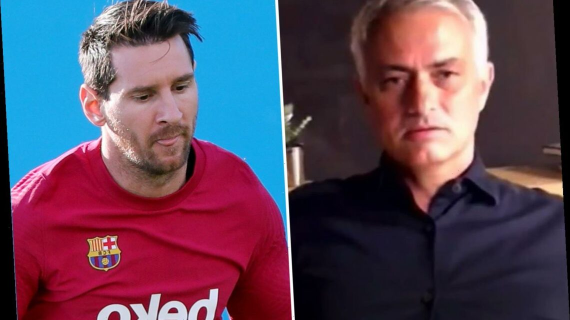 Jose Mourinho takes hilarious swipe at Man City and says Lionel Messi would only go to club 'who doesn't respect FFP'