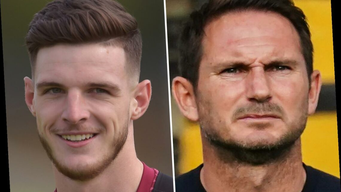 Declan Rice 'pushing' for Chelsea transfer as West Ham insist they won't sell England defender