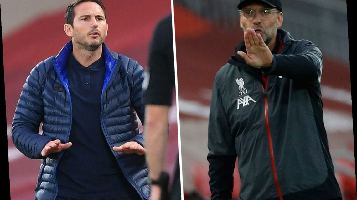 Embarrassed Frank Lampard admits he 'regrets' Klopp 'f*** off' row at Liverpool and Chelsea boss plans to apologise