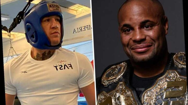 Conor McGregor slams 'fat fool' Daniel Cormier as UFC legend says his next fight would be in UFC and not Manny Pacquiao