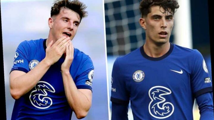 Chelsea fans fume as £70m Havertz is taken OFF at half-time but Mount stays on after Christensen red vs Liverpool