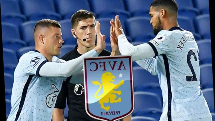 Chelsea duo Ross Barkley and Ruben Loftus-Cheek emerge as shock loan transfer targets for Aston Villa