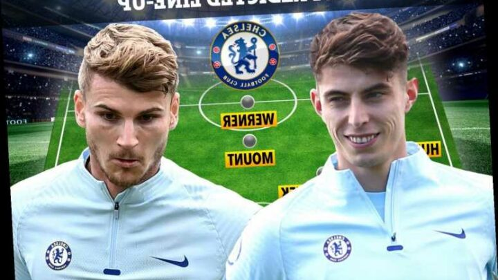 How Chelsea could line-up at Brighton with Thiago Silva, Chilwell and Ziyech all OUT but Lampard set to hand out debuts