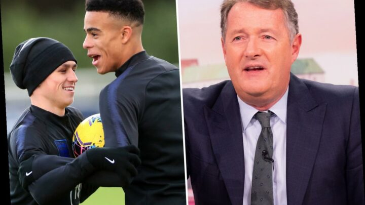 Piers Morgan slams Phil Foden and Mason Greenwood as GMB host brands pair 'Covidiots' after England hotel shame