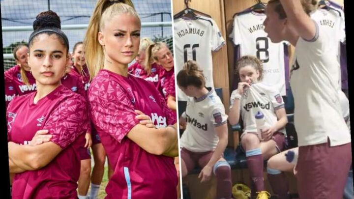 Gilly Flaherty tells West Ham teammates to 'f*** off' during X-rated rant in explosive new Squad Goals documentary