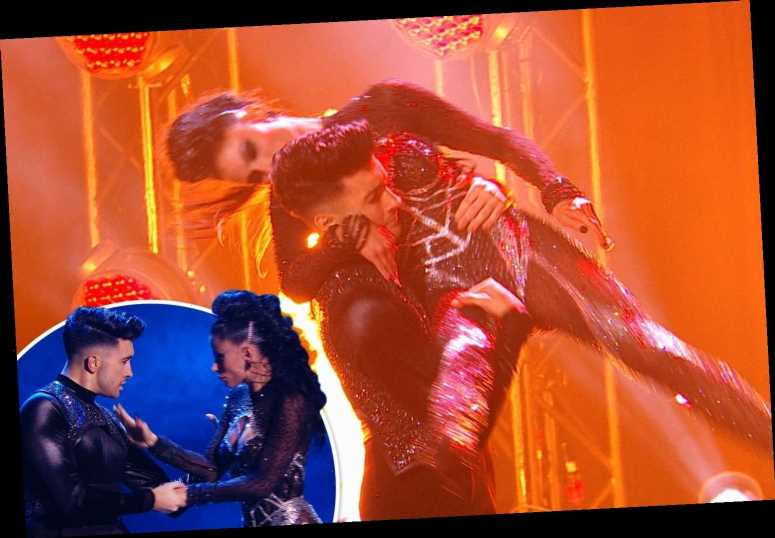 Britain's Got Talent's Jasmine and Aaron make the final after very sexy dance routine gets fans hot under the collar