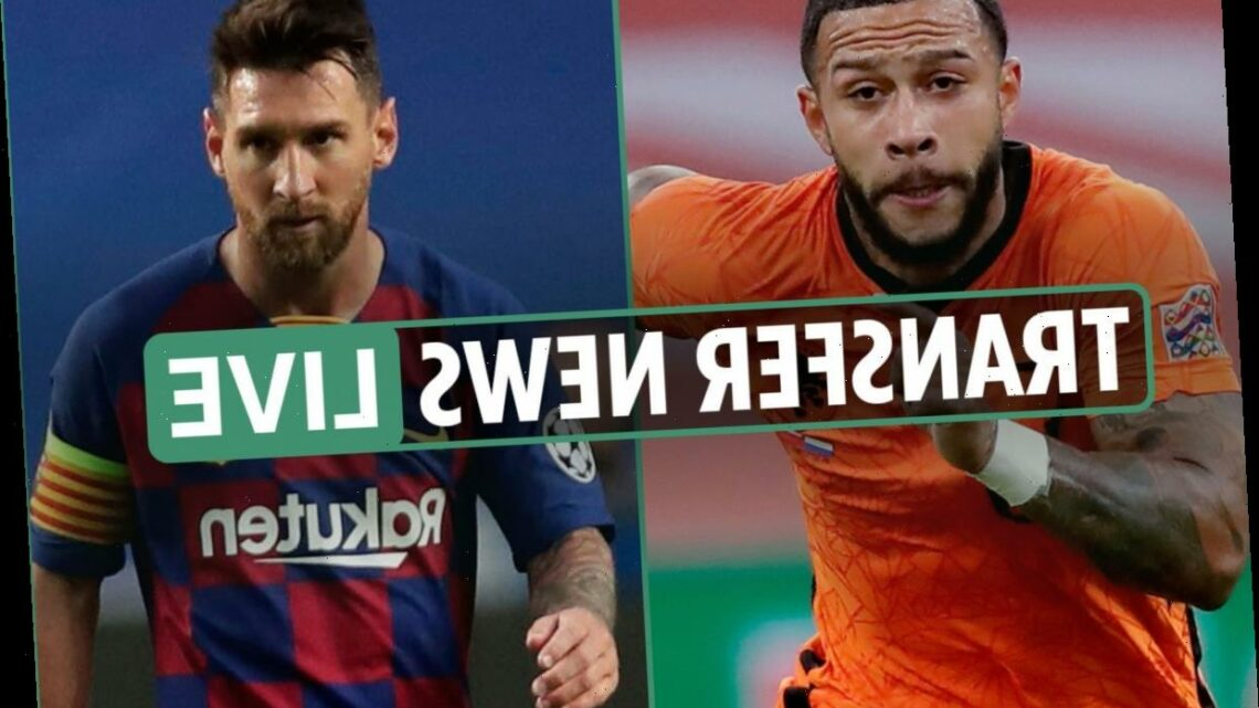 Transfer news LIVE: Messi ARRIVES for training, Depay to Barcelona LATEST, Suarez 'AGREES' Juventus move – The Sun