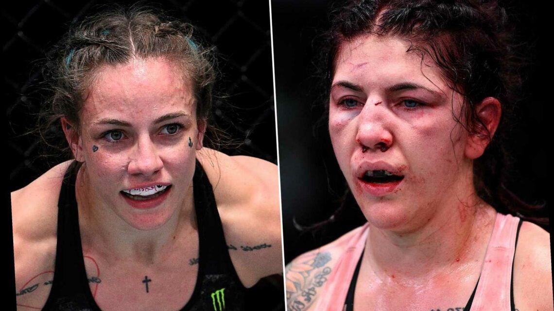 UFC's Jessica-Rose Clark sorry for destroying Sarah Alpar's face right before wedding