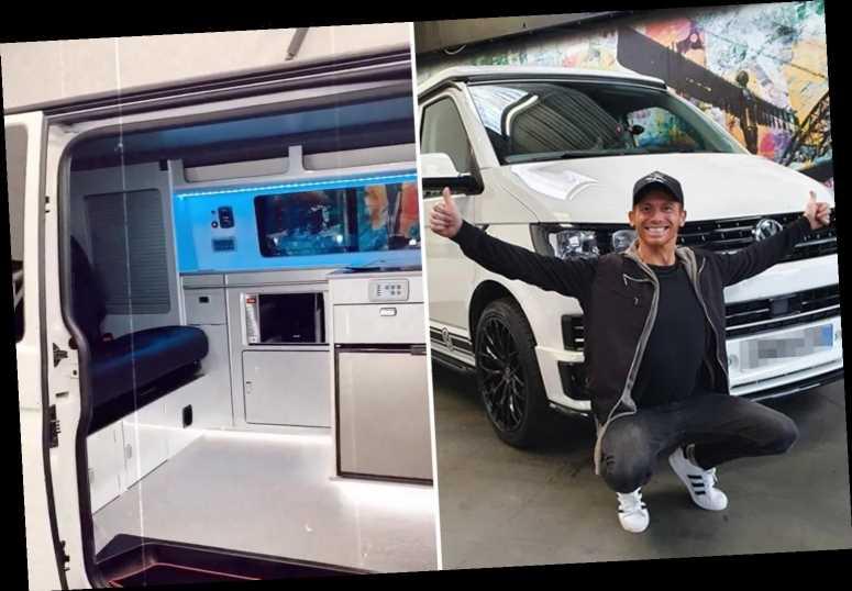 Joe Swash surprises Stacey Solomon as he buys unbelievable £50,000 camper van for the family to 'make memories in'