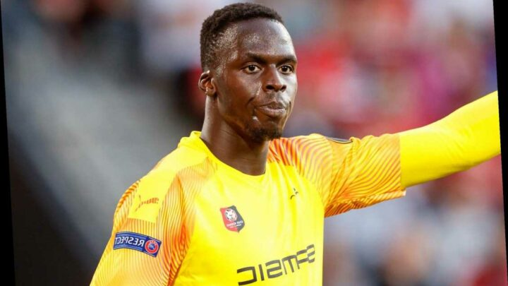 Chelsea poised to make history with £27.7m transfer swoop for Rennes' Edouard Mendy to crank up the pressure on Kepa