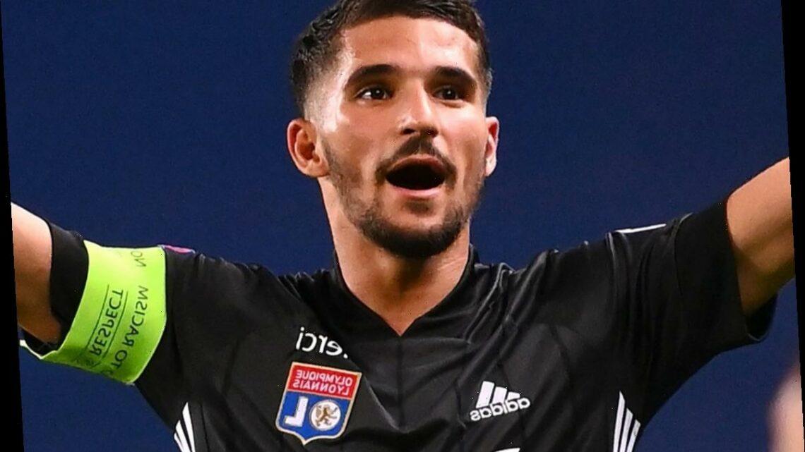 Arsenal's Houssem Aouar transfer bid in danger as Lyon president warns Gunners 'don't want to' meet £44m asking price